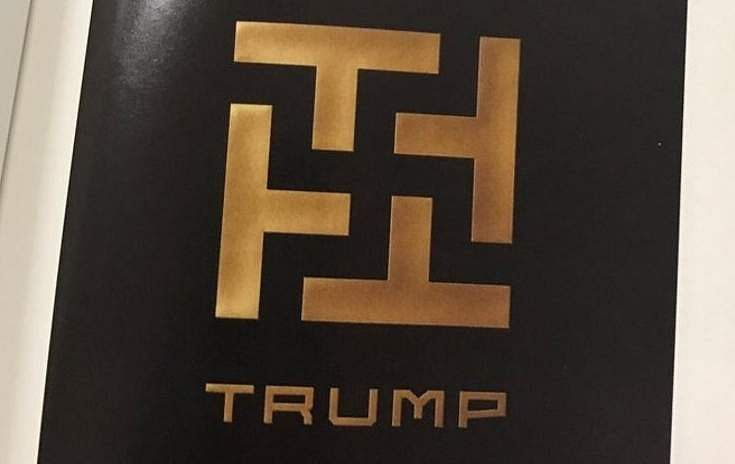 Swastika Sign Alongside TRUMP Found On University Campus