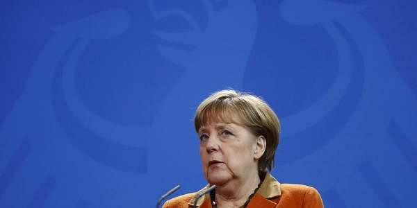 German Chancellor Angela Merkel addresses the media at the Chancellery in Berlin, Germany (File Photo | Reuters)