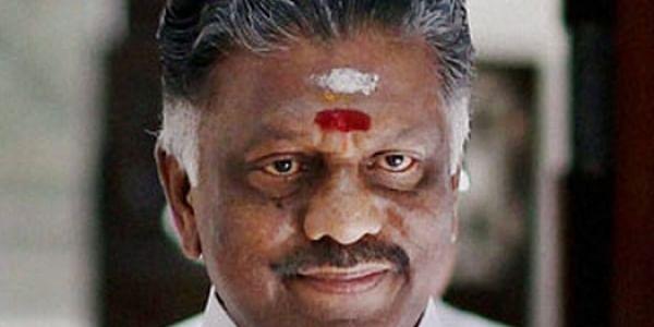 Tamil Nadu Chief Minister O Panneerselvam. | PTI