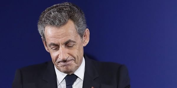 Former French President Nicolas Sarkozy. (File Photo | AP)