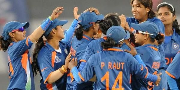 Indian women cricketers. (File photo |AFP)