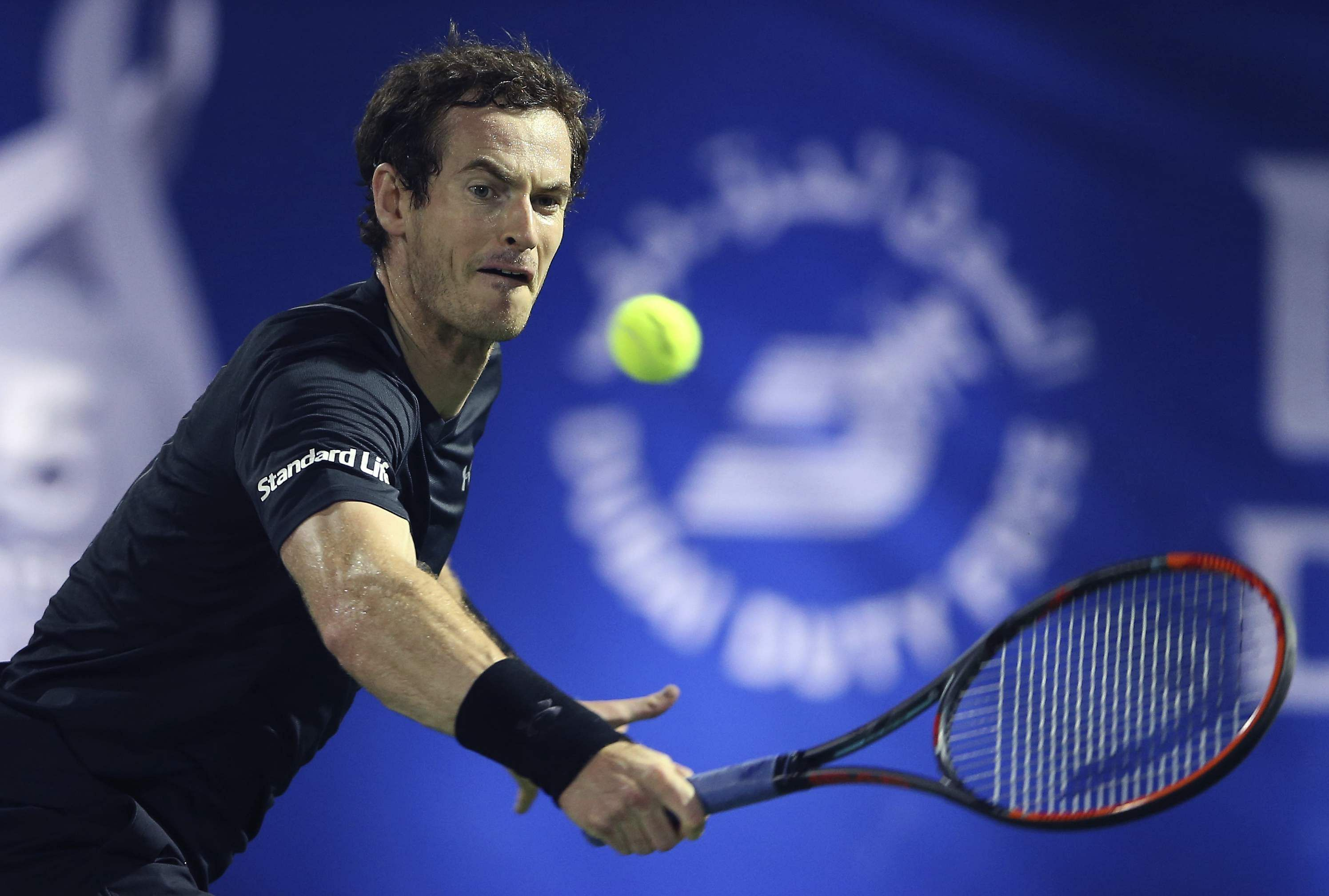 Murray Saves 7 Match Points In Dubai Win Over Kohlschreiber