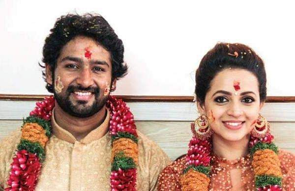 Actor Bhavana Gets Engaged To Kannada Producer Naveen The