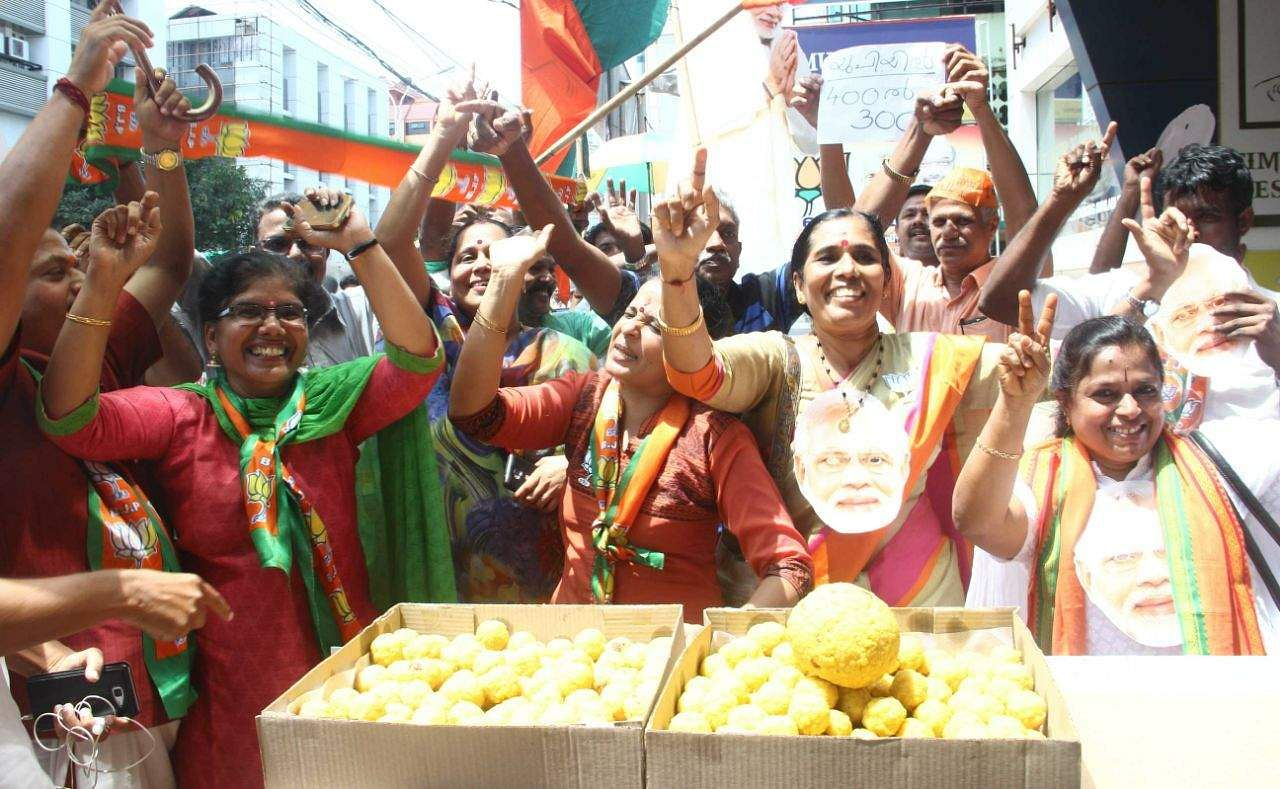 BJP Cadre, Kochi