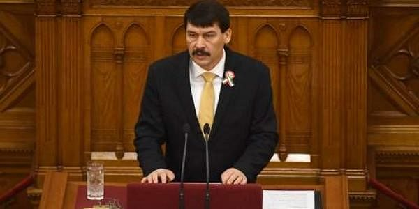 Hungarian President Janos Ader. (Photo | AP)