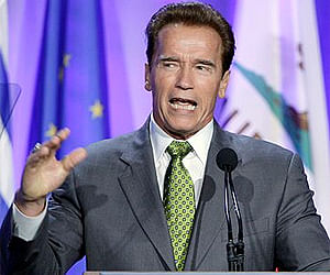 Climate change more important than partisan politics, says Arnold Schwarzenegger