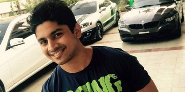 af902290cc91 Chennai racer Ashwin Sundar