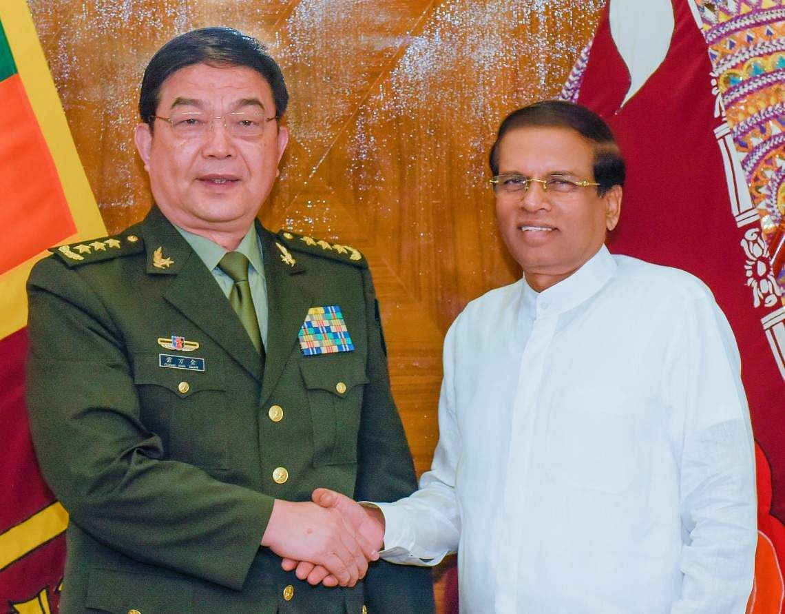 Chinese defense minister to visit Sri Lanka, Nepal