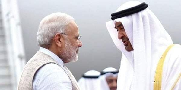 UAE, Modi, Sheikh Mohammed Bin Zayed