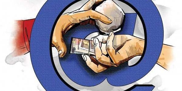 Fake currency, Drugs, Intenet