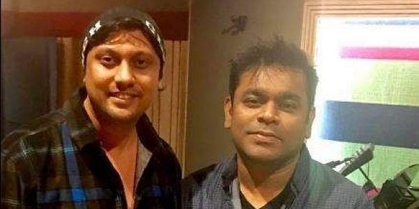 Dilshaad Shaikh with composer AR Rahman (Photo |Facebook)