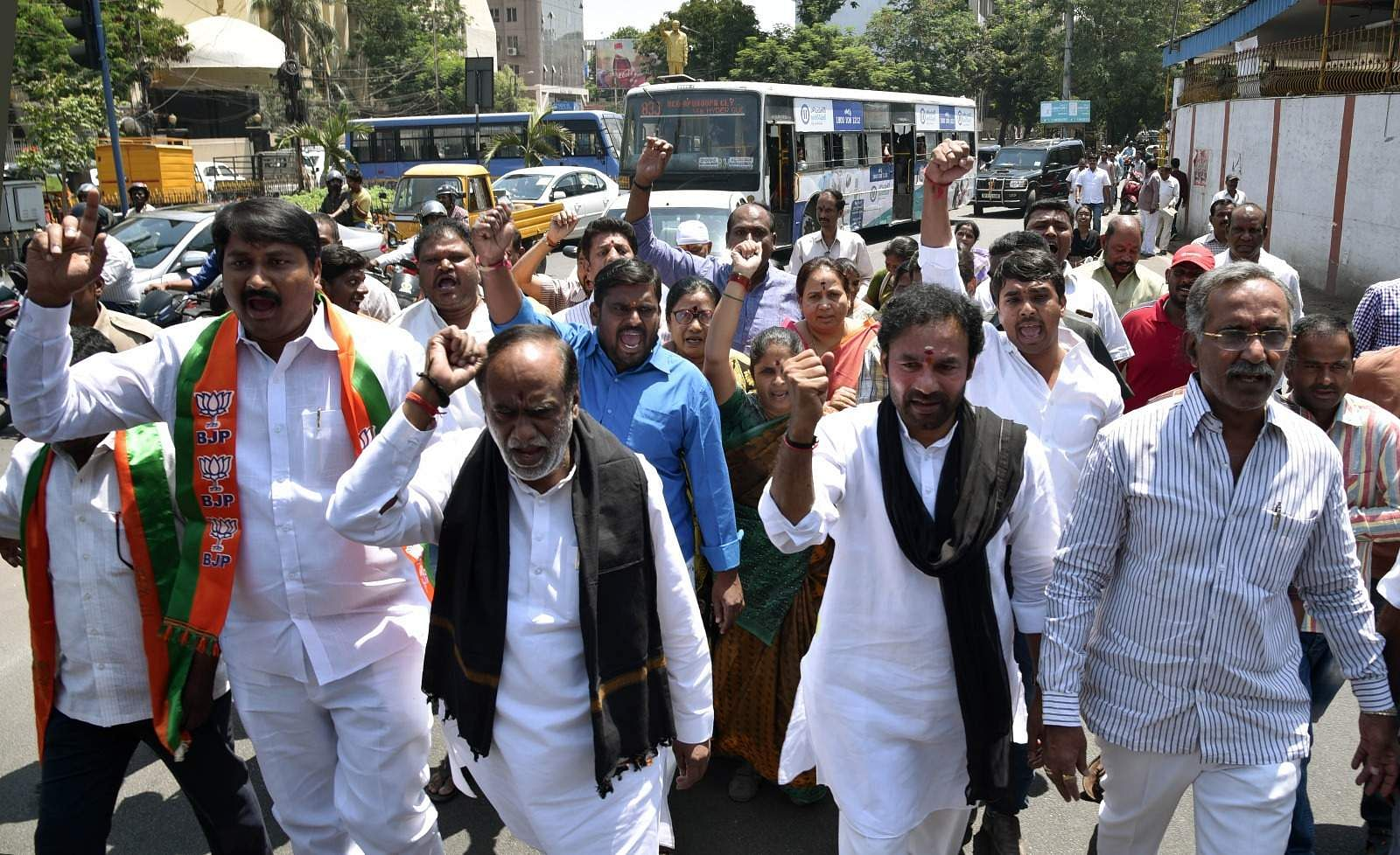 Terming the move as 'unconstitutional', the BJP has called for 'chalo assembly' (March to Assembly) on Friday. (EPS | Satish Babu)