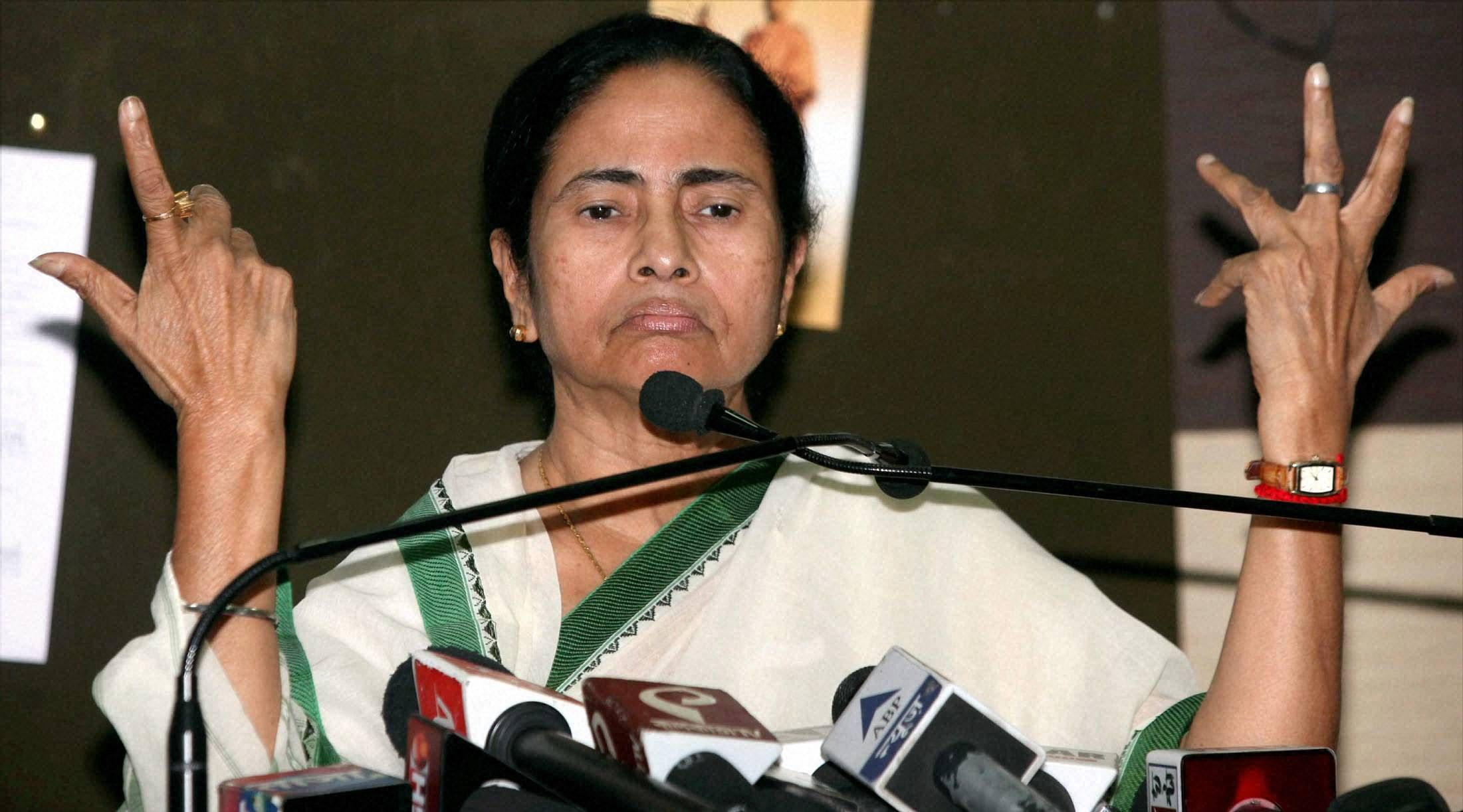 Will agitate against mamata banerjee for attacking our workers bjp the indian express - West Bengal Chief Minister Mamata Banerjee File Pti