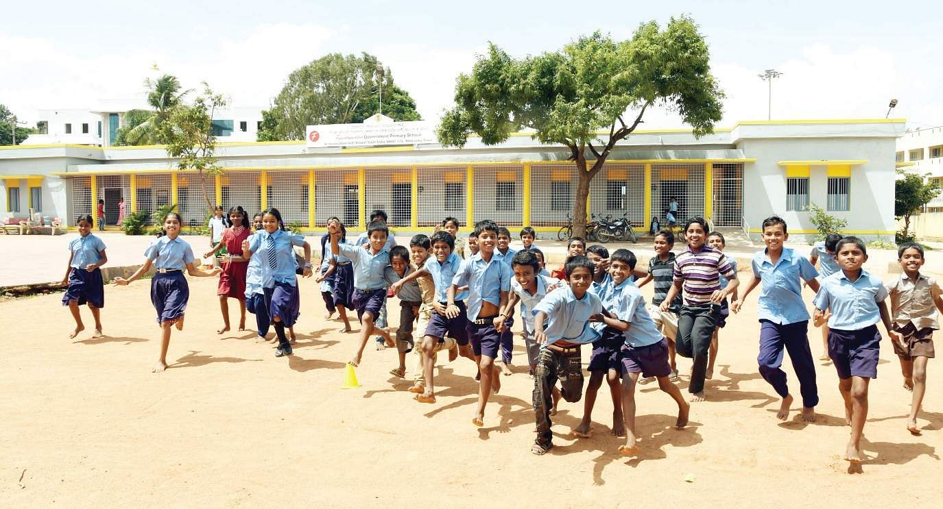 Where Should Kids Play 29k Schools Don T Have Playgrounds The New Indian Express