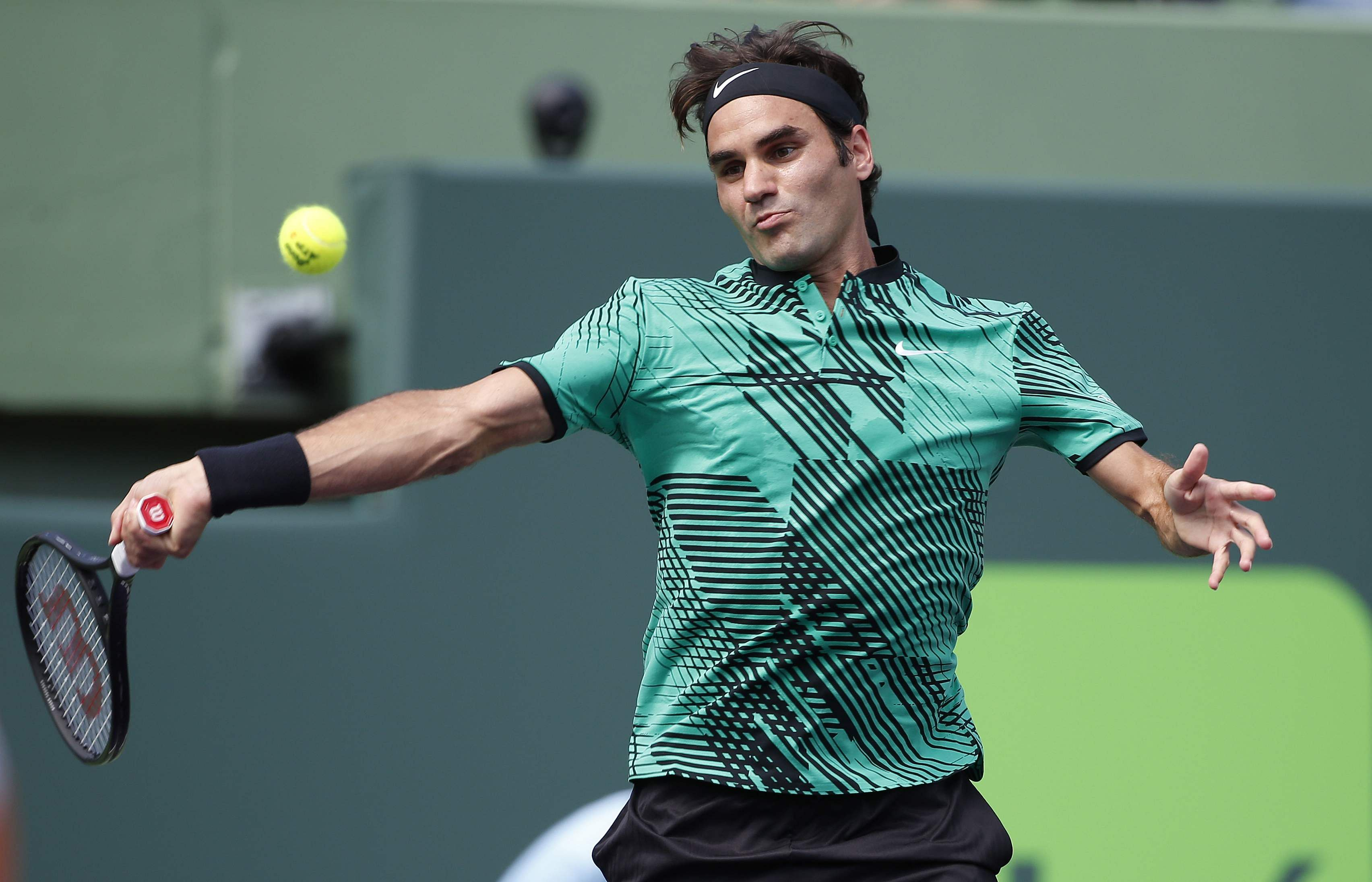 Roger Federer Picture: Federer Rolls Into Fourth Round At Miami Open- The New