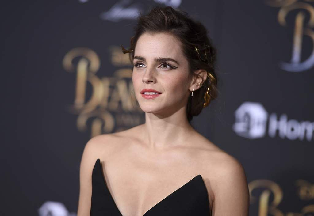 Emma Watson at the premiere of Beauty and the Beast in Los Angeles