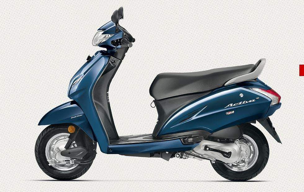 Honda Activa 217098 Units Sold In February 2017 BSIV