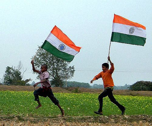 India's latest flag is hoisted so high that Pakistan can see it