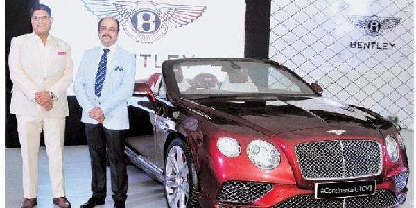 Bentley Expo Brings New Vigour To State S Luxury Car Market The New