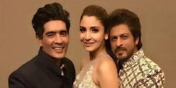 Manish Malhotra, Anushka Sharma and Shah Rukh Khan at Mijwan Summer 2017 (Photo | facebook.com/IamSRK)