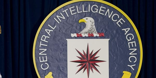 Seal of the Central Intelligence Agency at CIA headquarters in Langley (File Photo | AP)