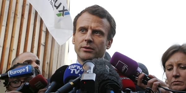 Independent centrist presidential candidate Emmanuel Macron (File Photo | AP)