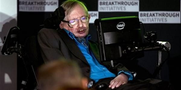 British physicist Prof Stephen Hawking. (File photo | AP)