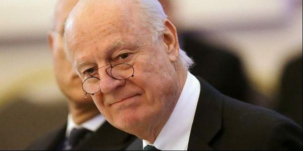 U.N. Special Envoy for Syria Staffan de Mistura (File Photo | AP)