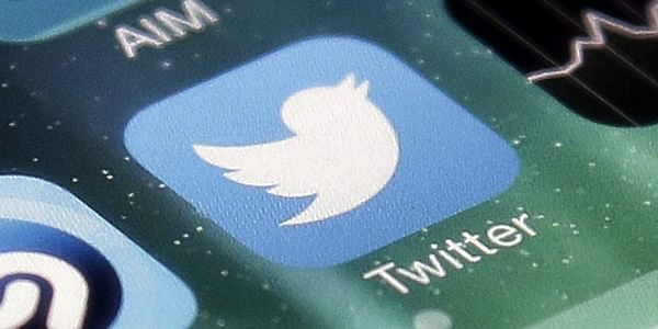 Twitter app on a smartphone. (File | AP)