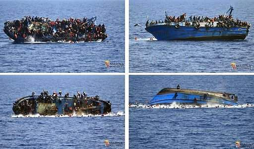At least 97 missing as migrant boat sinks off Libya