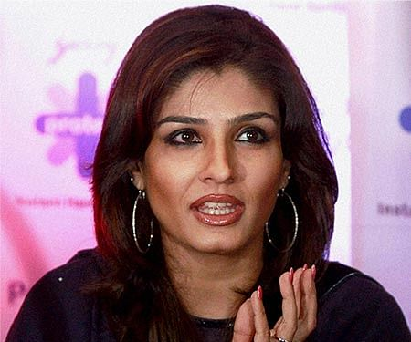 Case registered against actor Raveena Tandon