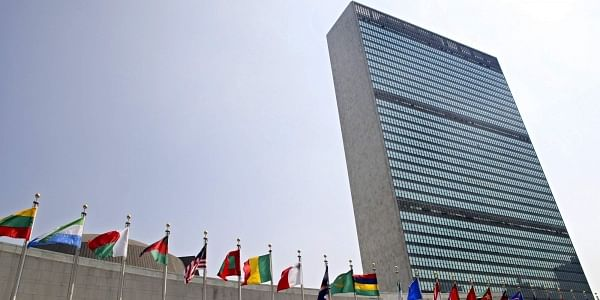 United Nations General Assembly building in New York. (File | AP)
