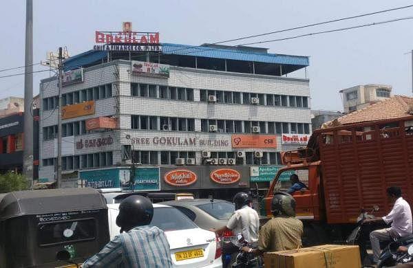 Sri Gokulam chit funds building in Chennai. | Shiba Prasad Sahu/EPS