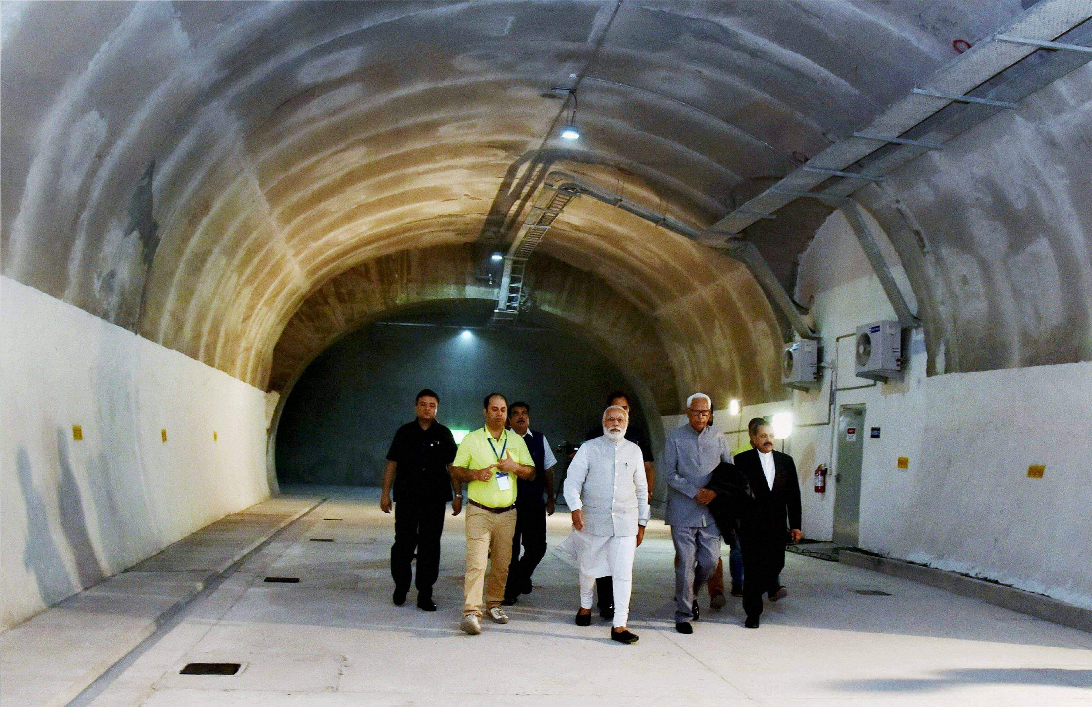 प्रधानमंत्री चेनानी-नाशरी टनल उद्घाटन
