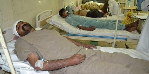injured victims rest in hospital