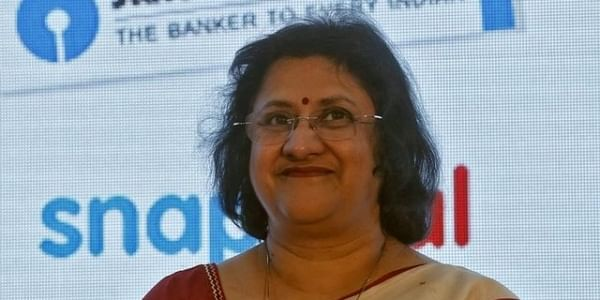 State Bank of India (SBI) chairwoman Arundhati Bhattacharya. (File Photo | Reuters)