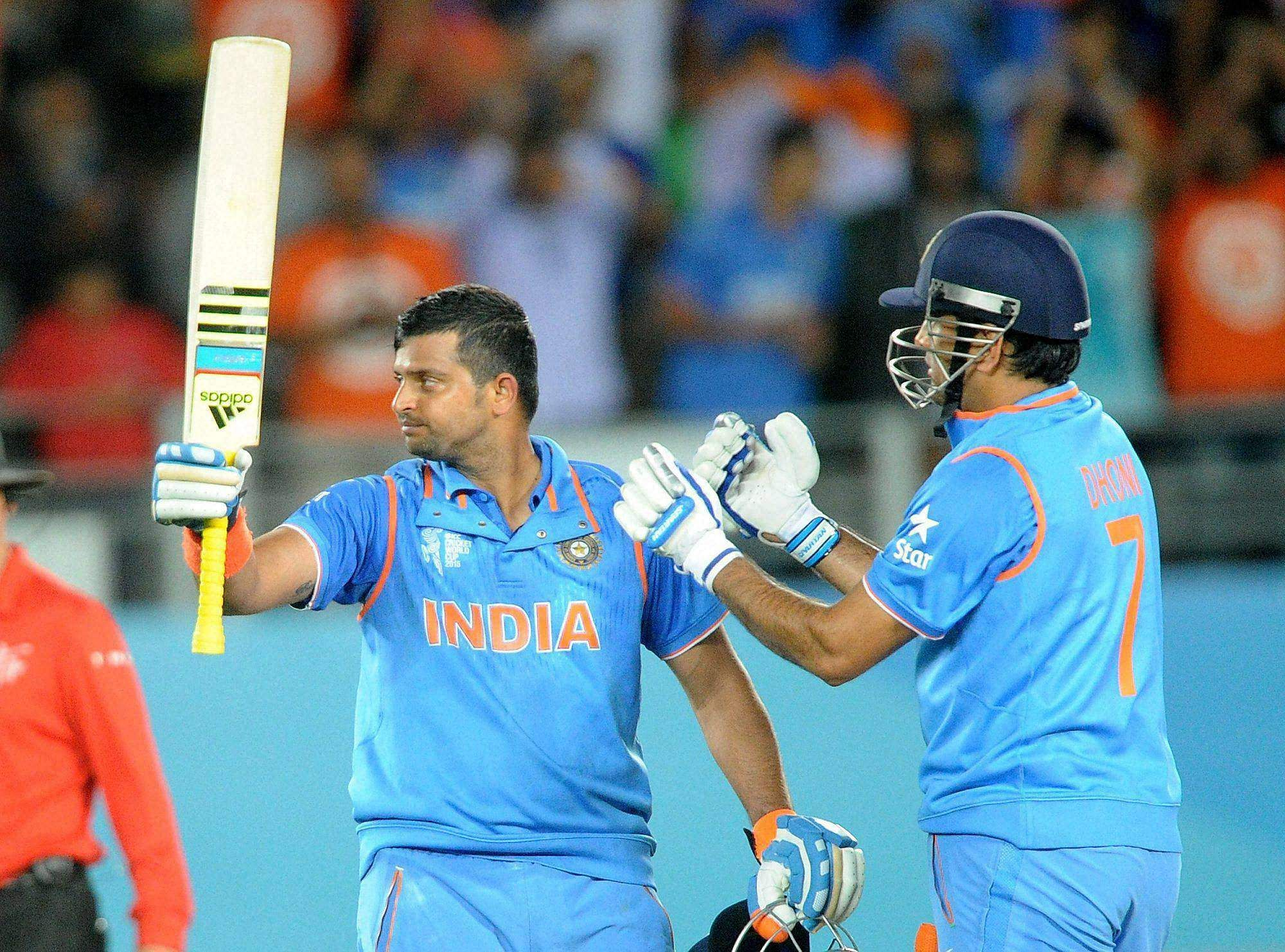 Player like Dhoni should always be respected, says Raina ...