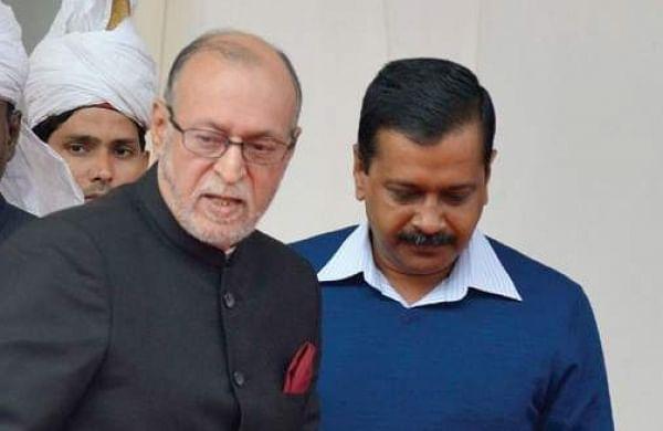 Anil Baijal and Arvind Kejriwal. (File | EPS)