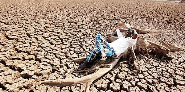 in 15 yrs state sees 13 droughts and 80 of its land turn arid the