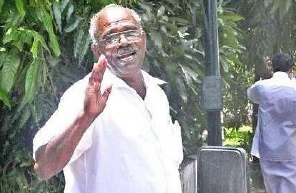 Kerala minister for electricity MM Mani.