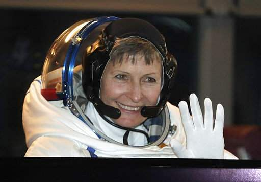 Astronaut breaks USA space record, gets call from Trump