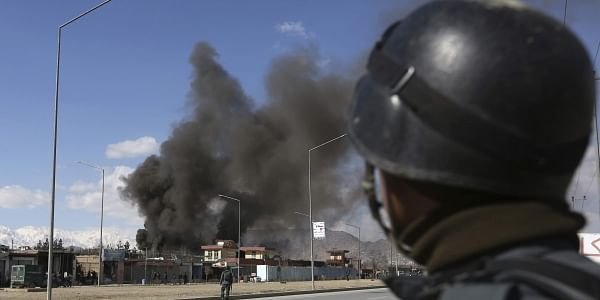 Afghan security forces respond to a suicide attack in Kabul, Afghanistan, Wednesday, March 1, 2017. (File Photo | AP)