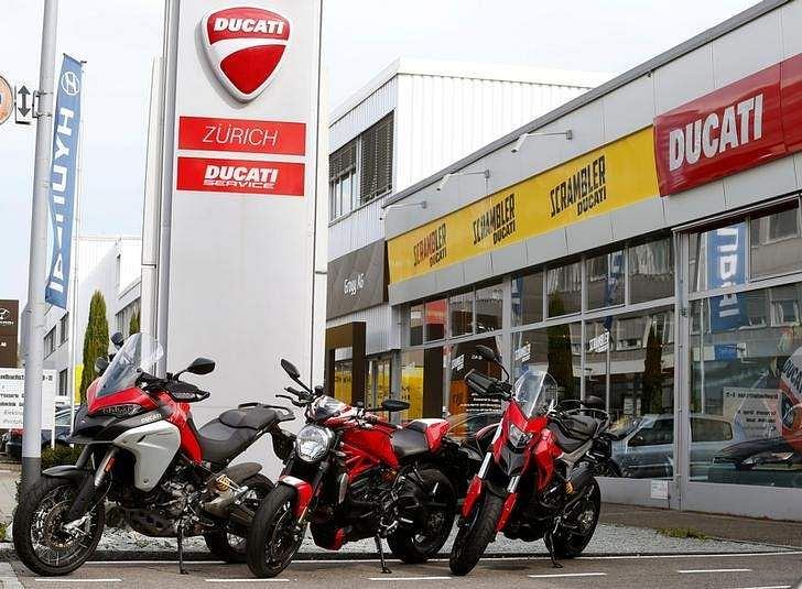 Volkswagen Considering Possible Sale Of Ducati