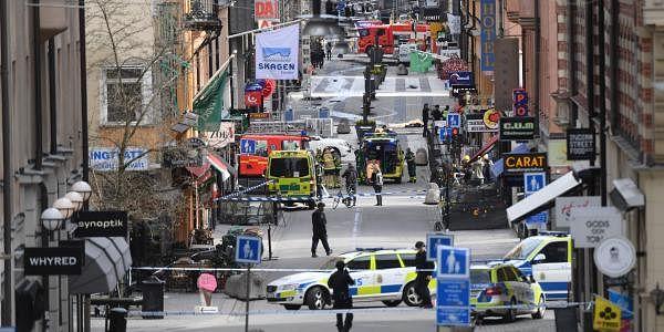 Stockholm truck attack, AP