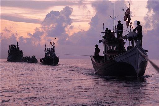 Representational Image of Rohingya migrants. (File photo |AP)