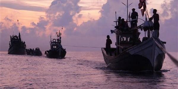 Representational Image of Rohingya migrants. (File photo  AP)