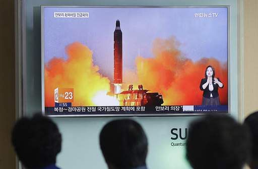 N.Korea fires ballistic missile, United States says clock has now run out
