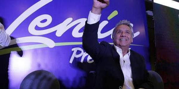 Presidential candidate for the ruling party Alliance PAIS Lenin Moreno. (Photo | AP)