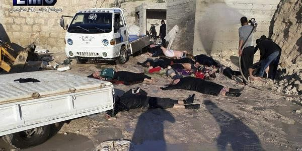 Syria, chemical attack, victims