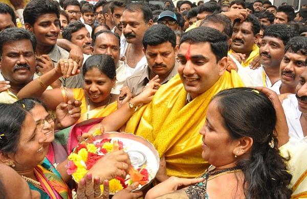 Panchayat raj and IT minister Nara Lokesh | EPS